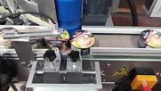 Пускане на автоматична етикетираща машина при нашия нов клиент