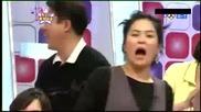 (голям Смях!) [бой с възглавници] ( Високо Качество ) Minho, Eunhyuk amp; Leeteuk Pillow Fight Cut