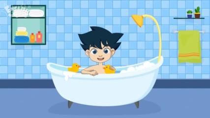 След баня - английска детска песничка