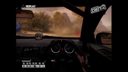 Dirt 2 replay of gameplay