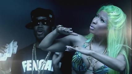 Превод • Nicki Minaj Ft 2 Chainz - Beez In The Trap ( Официално Видео )