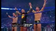 wwe кеч Backlash 2009 - промо за мача Triple H,  Batista & Shane Mcmahon vs. The Legacy (hq)