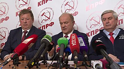 Russia: 'Voter heard us' – head of Communist Party on preliminary elex results