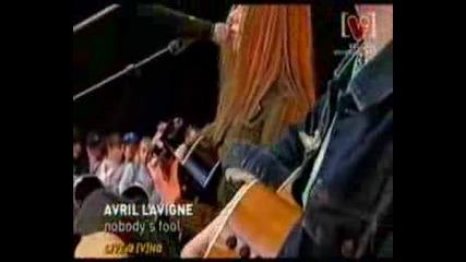 Avril Lavigne - Nobodys Fool Live
