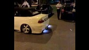Bmw M3 sound and flame