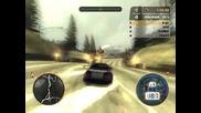 Nfs Most Wanted - състезание с Bmw M3 - 3