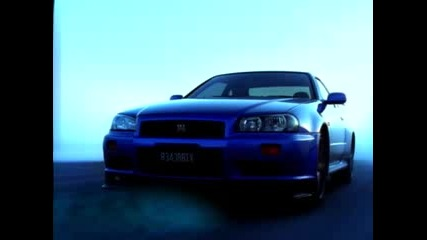 Реклама На Nissan Skyline R34 V - Spec