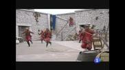 Aguila Roja contra los portugueses
