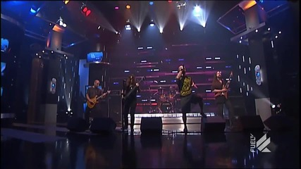 All That Remains (us) - Hold On (performing live on the daily habit, fuel tv 2011)