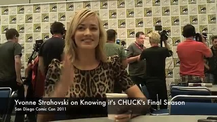 Yvonne Strahovski Talks Chuck