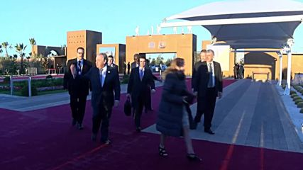 Morocco: Merkel and world leaders arrive at UN Migration conference