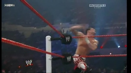 Chris Jericho vs Evan Bourne - Част 2 (fatal 4 Way)