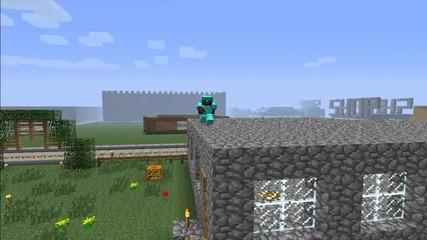 Minecraft - Велик Jumper (mini Movie)+(много Смях)