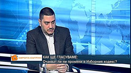 Христо Гаджев: Всички карантинирани лица към дата 4 април ще могат да гласуват