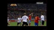 Германия - Испания 0 - 1 World Cup 2010