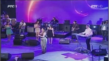 Ceca - Brat - (LIVE) - Tamburica fest - (Tv Rts 2014)