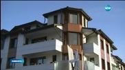 Хотел в Банско горя, семейство чупи прозорци, за да се евакуира