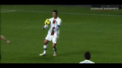 Cristiano Ronaldo се базика с Шави