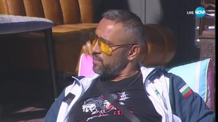 Петко укорява Ваня за прекалената ѝ добродушност - VIP Brother 2018