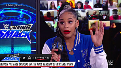 Bianca Belair addresses issues with Bayley: WWE Talking Smack, Nov. 28, 2020