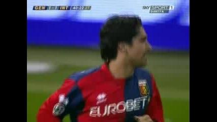 19.03.08/Genoa Vs Inter In Serie A