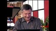 Господари на ефира 02/07/2009 [смях] Закачките на Милен Цветков към Лора Крумова...