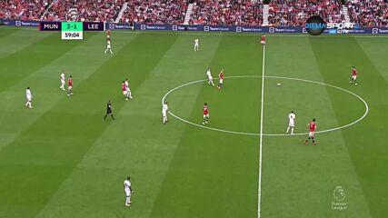 Манчестър Юнайтед - Лийдс Юнайтед 5:1 /репортаж/