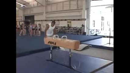 Awesome Gymnastics By Charlie Tamayo