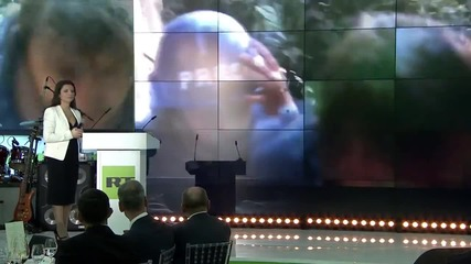 Russia: Putin tours RT as 10th anniversary celebrated in Moscow