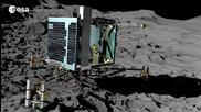 Сондата Philae - спускане и изследване на кометата 67р (анимация)