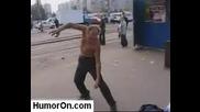Drunk Russuan Ninja