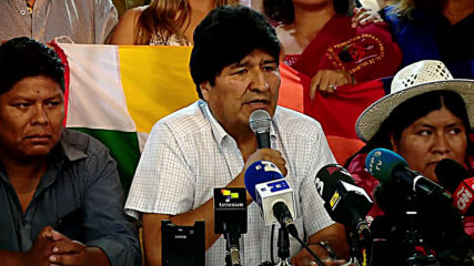 Argentina: Evo Morales announces candidates for Bolivian elections