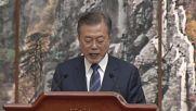 North Korea: Kim and Moon hail new future during press conference
