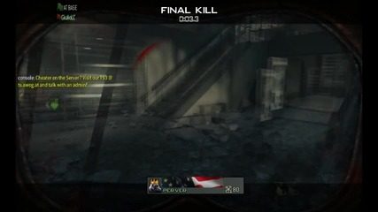 Cod:mw3 capture the flag multiplayer by kilox