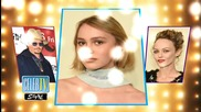 Lily-Rose Depp and Mom Vanessa Paradis Look Exactly Alike!