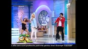 Andrea & Costi - Chupa song / Neatza cu Razvan si Dani - Antena 1 Bucharest, Romania