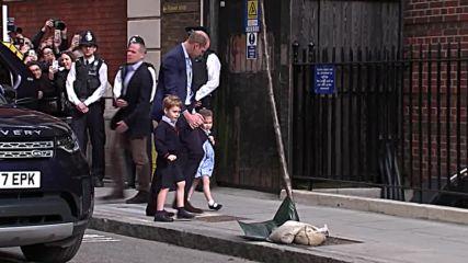 Роди се третото дете на принц Уилям и Кейт Мидълтън