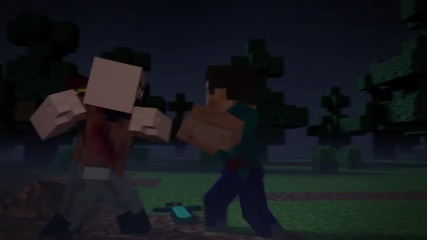 Minecraft-notch vs Herobrine