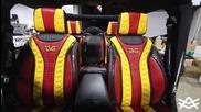 Джипът на Флойд Мейуедър със седалки от алигаторска кожа - Avorza Jeep Wrangler Tmt