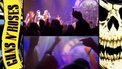 Концерт на Guns N' Roses в