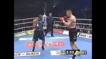 K-1 World Grand Prix 2007 Semmy Schilt vs Glaube Feitosa