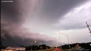 Буря в Денисън, Айова 31.8.2014