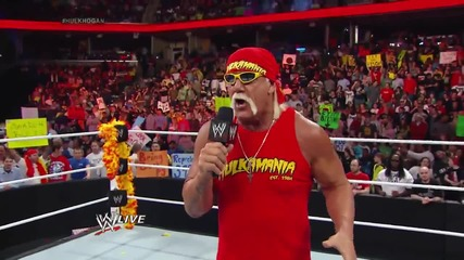 Hulk Hogan Is Back Raw (10.03.14)