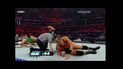Wwe.the.bash.2009 Match for Ecw Championship