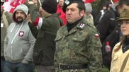 UK: Far-right Polish nationalists commemorate fallen WW2 soldiers