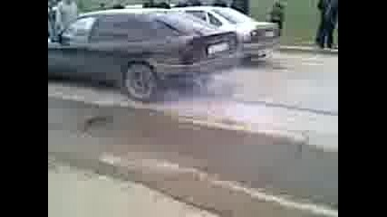 Вектра А загрява гумите - Добрич
