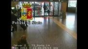 Джип се врязал в чакалня, b T V Новините, 24 февруари 2011