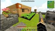 Survivalcraft Епизод 1-къщата ми и малко разяснения за сървъра!