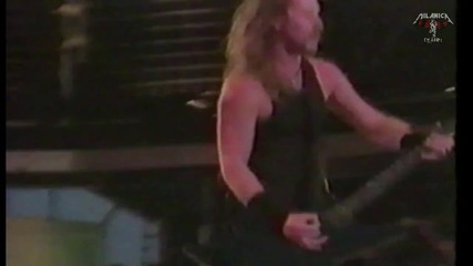 Metallica - Master of puppets - Moscow 1991