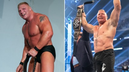 6 records set by Brock Lesnar: WWE List This